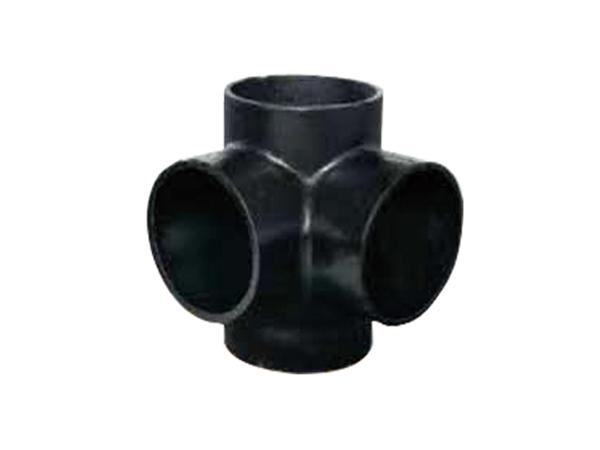 铸铁排水管W型配件直角四通