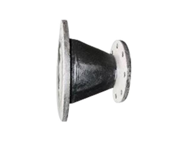 球墨铸铁管配件渐缩管大小头双盘渐缩管