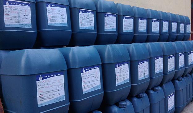 锅炉水处理药剂施工案例展示