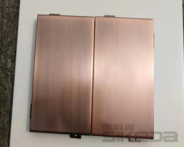 福建仿铜拉丝铝单板