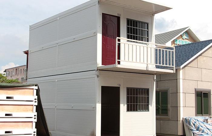 折叠集装箱房屋