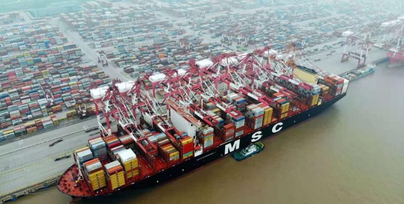 住人集装箱厂家解析洋山港迎来世界较大集装箱船