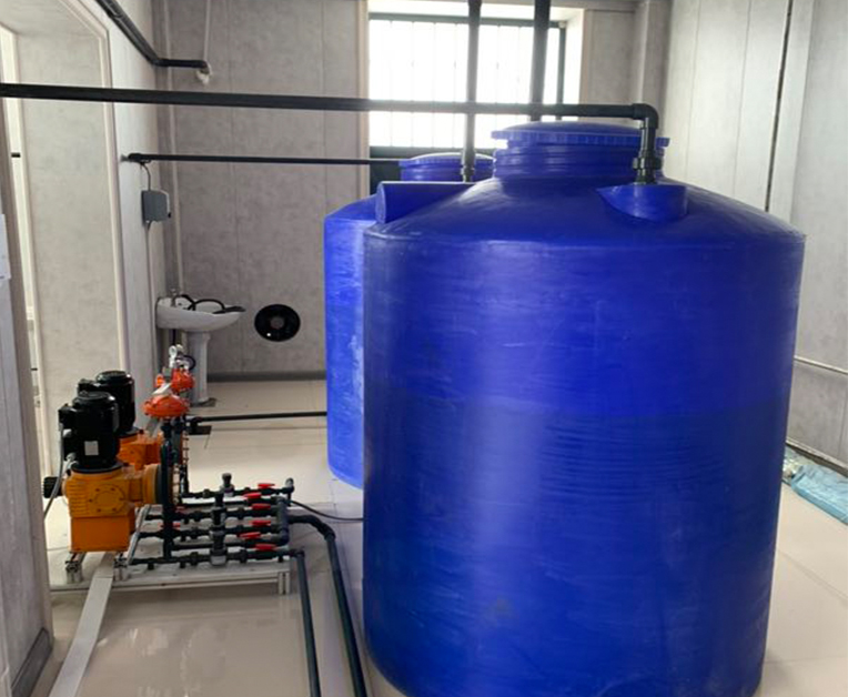 简易型次氯酸钠发生器1kg一用 一备现场