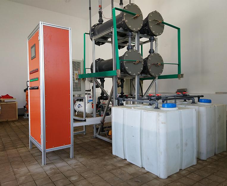 自动组合式次氯酸钠发生器20kg现场2