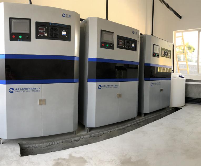 环保次氯酸钠发生器500g二用一备现场