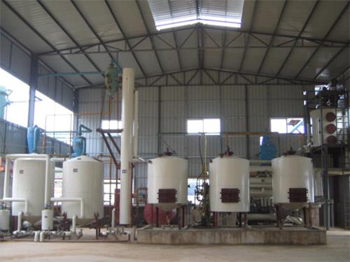 动物油炼油设备