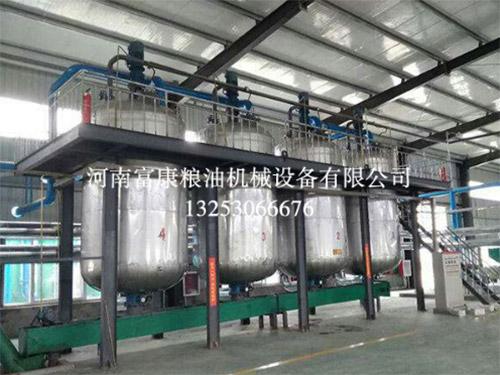 动物油精炼油设备