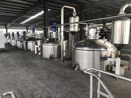 不锈钢动物油精炼设备