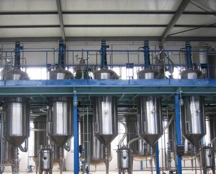 米糠油加工设备