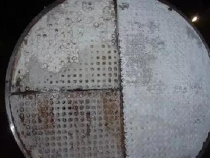 炼油设备结垢