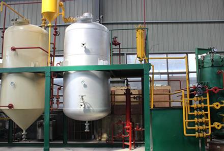 油脂设备安装减少塑料配件