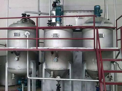 牛油电加热熬炼机组