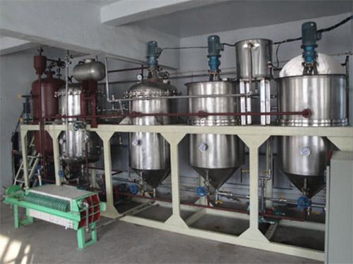 茶籽油精炼设备对毛油脱色的三个步骤告诉大家