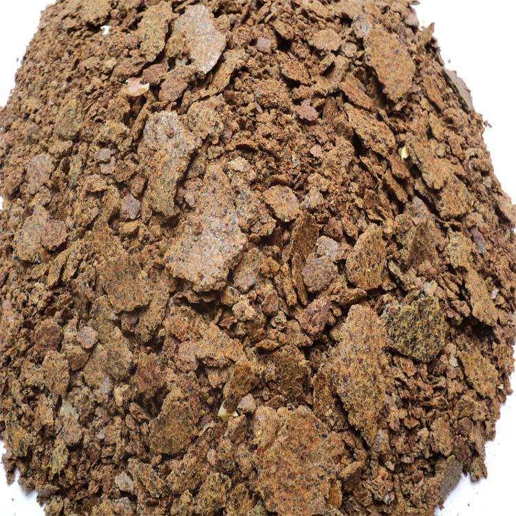 花生油渣做成的肥料