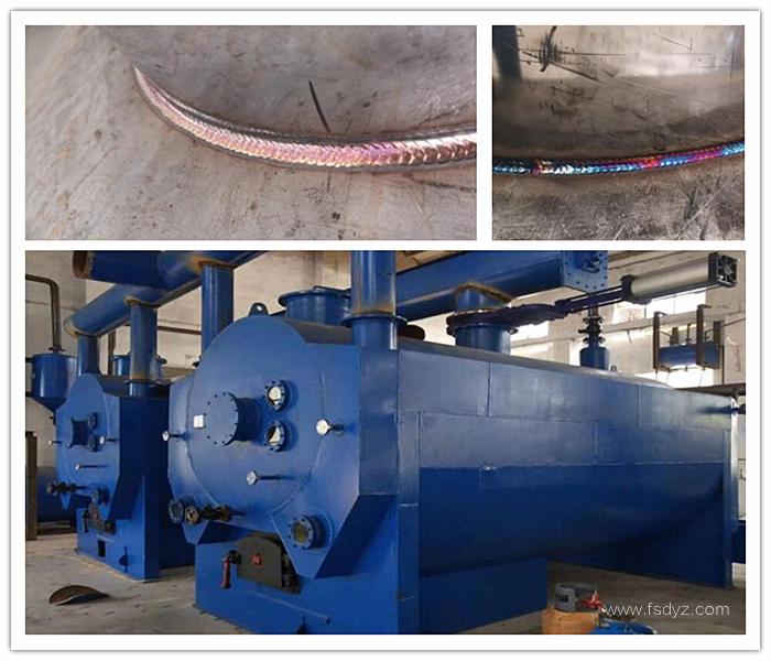 鸭油提炼设备焊接