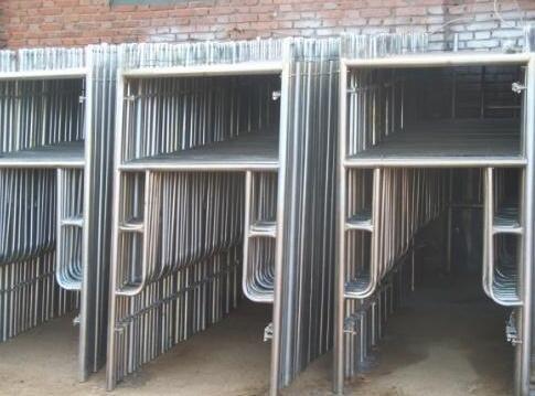 涪陵脚手架介绍关于碗扣脚手架的构造