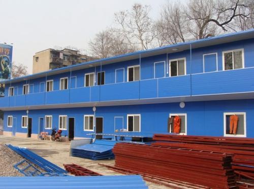 中铁建大桥工程局四公司钢筋加工厂房项目!
