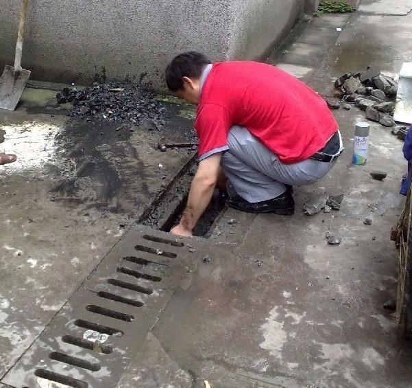 清理下水管道