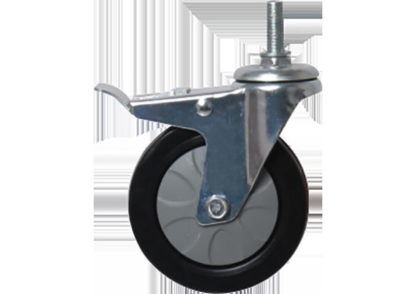 常见配件—4寸实心轮