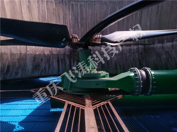 内置双击式水能风机(带动力补偿装置)