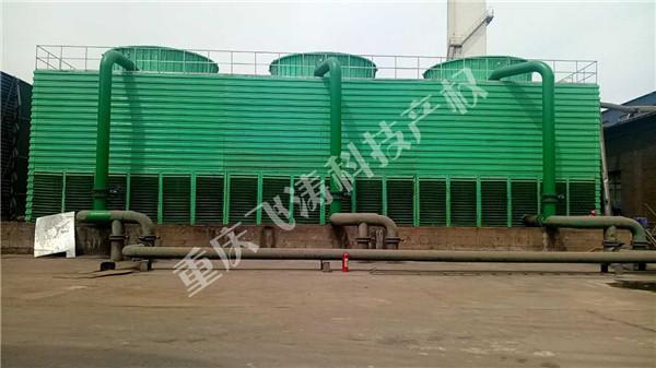 新建钢结构水能风机填料冷却塔(现场竣工照片)