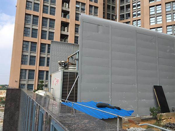 冷却塔隔声屏障安装
