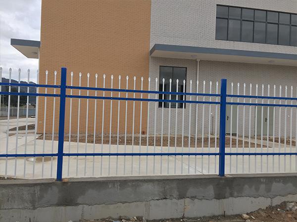 莆田工厂锌钢围墙护栏