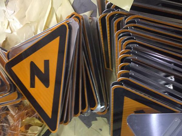 漳州道路警示标志牌