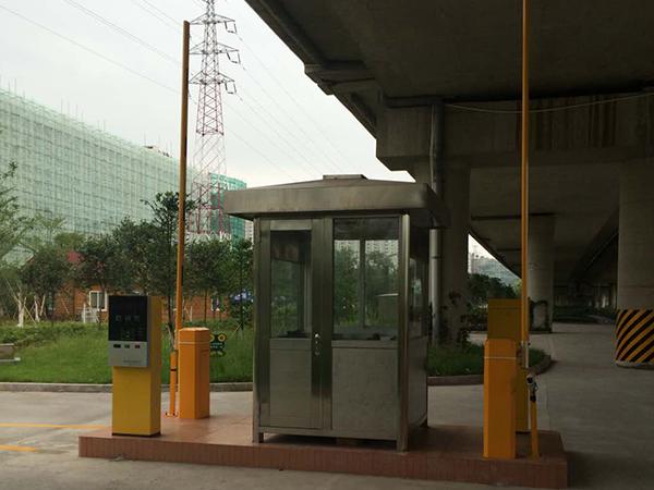 寧德公園停車場系統安裝