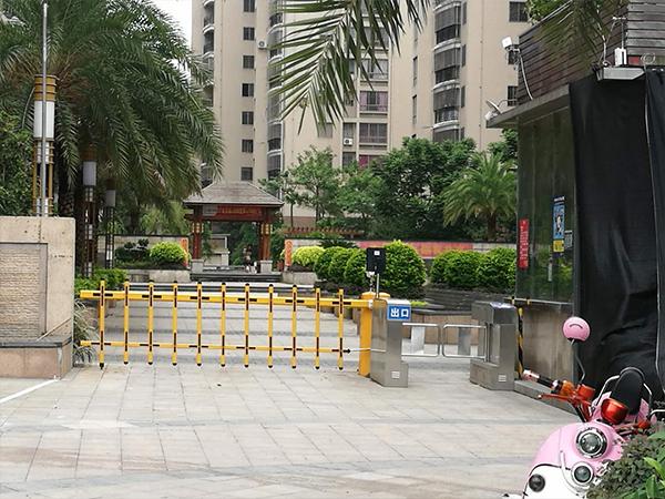 長樂小區停車場系統安裝