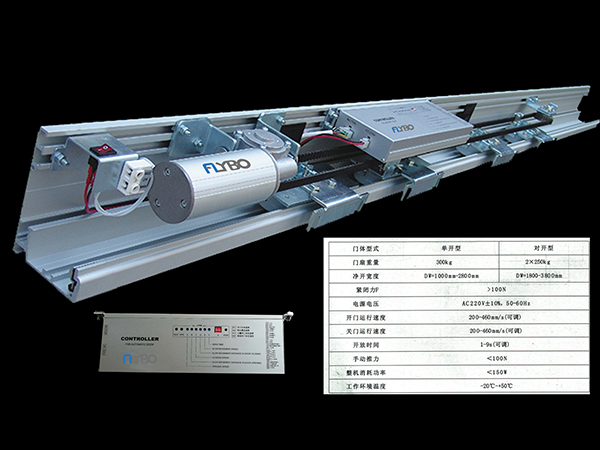 感应门机(重型)FLB-200