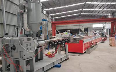 PE塑料草垫生产线