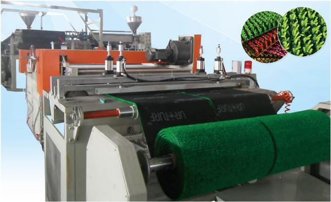 塑料草垫生产线