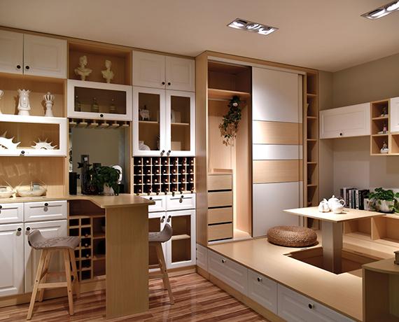 原木厨房橱柜
