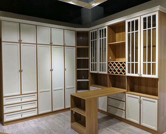 现代中式书柜