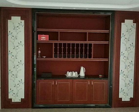 中式实木橱柜