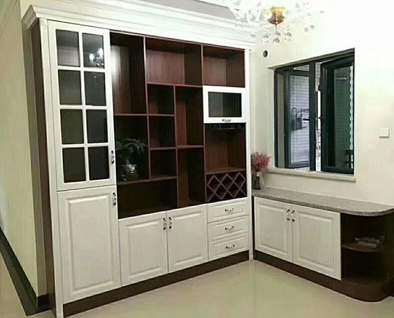 欧式实木装饰柜