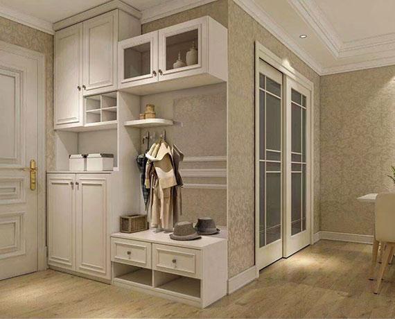 轻奢实木衣柜