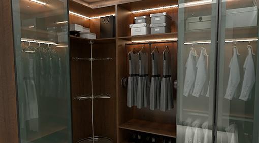 全鋁衣櫃的功效遠遠不止放衣服那麽簡單!