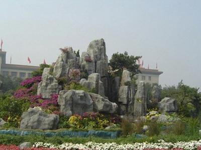 福建假山喷泉设计