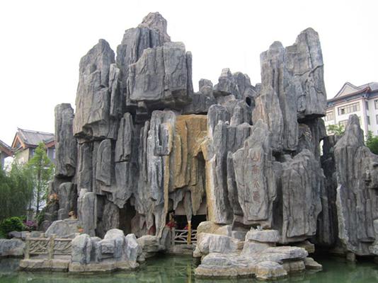 福州园林石雕