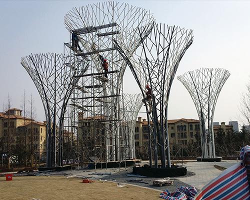 福州不锈钢雕塑设计