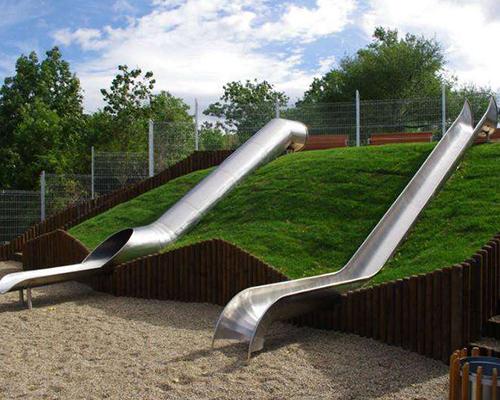 公园不锈钢滑梯