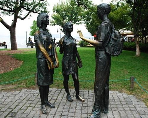 福州学校雕塑