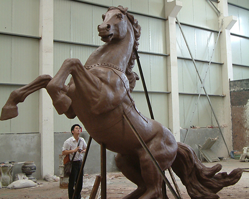 锻铜雕塑工艺品