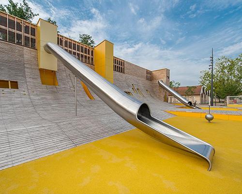 福州不锈钢大型滑梯