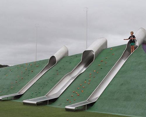 304不锈钢滑梯