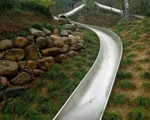 非标不锈钢滑梯