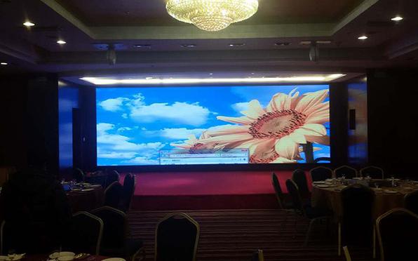 宁德山水大酒店p10led显示屏