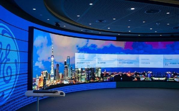 洲明商场led显示屏